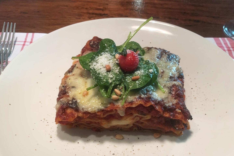 Mittagesmenu vegetarisch im Restaurant Swiss-Chalet Merlischachen